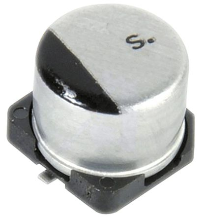 Panasonic 100μF Electrolytic Capacitor 4V dc, Surface Mount - EEE0GA101SR (25)