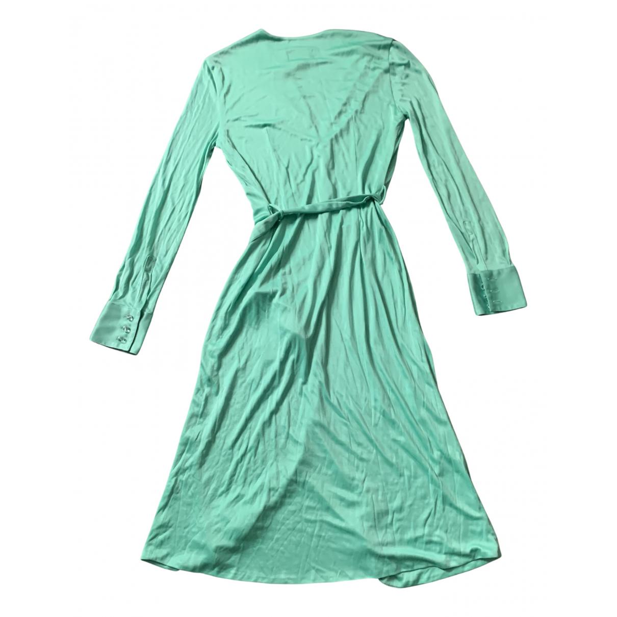Gianni Versace \N Kleid in  Gruen Polyester
