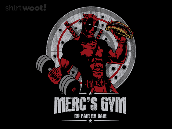 Merc's Gym T Shirt