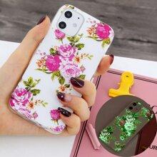 Floral Luminous iPhone Case