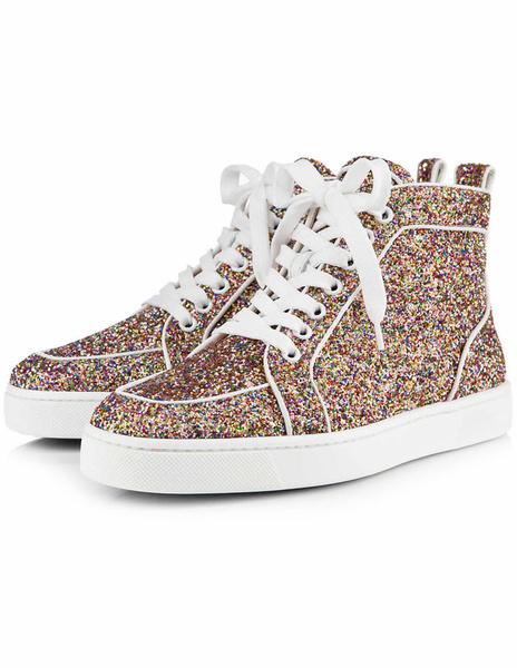 Milanoo Zapatos de tela brillante de moda