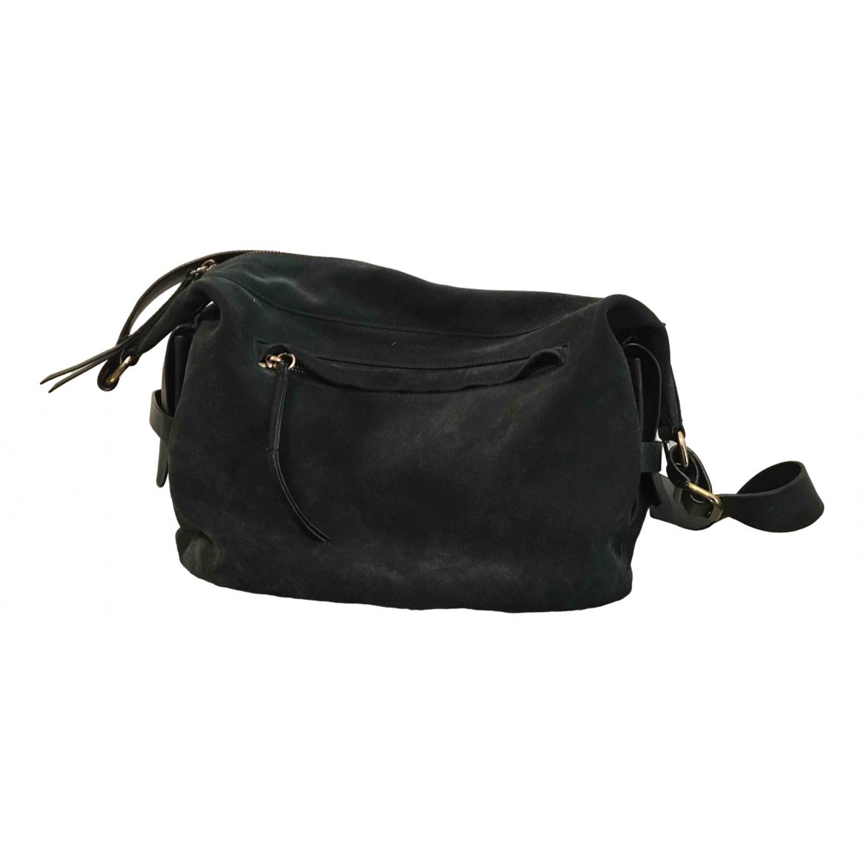 Isabel Marant \N Green Suede handbag for Women \N