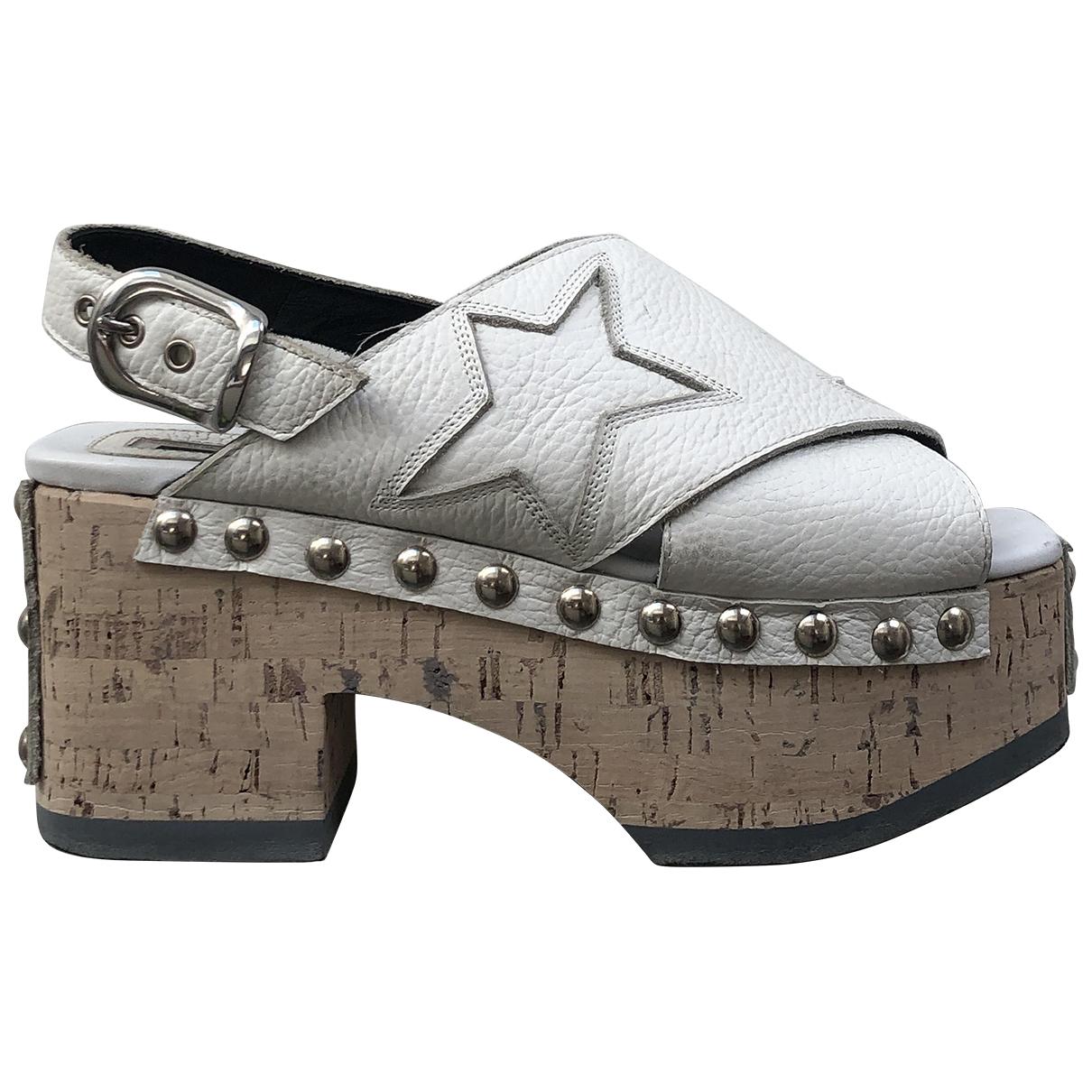 Sandalias de Cuero Mcq