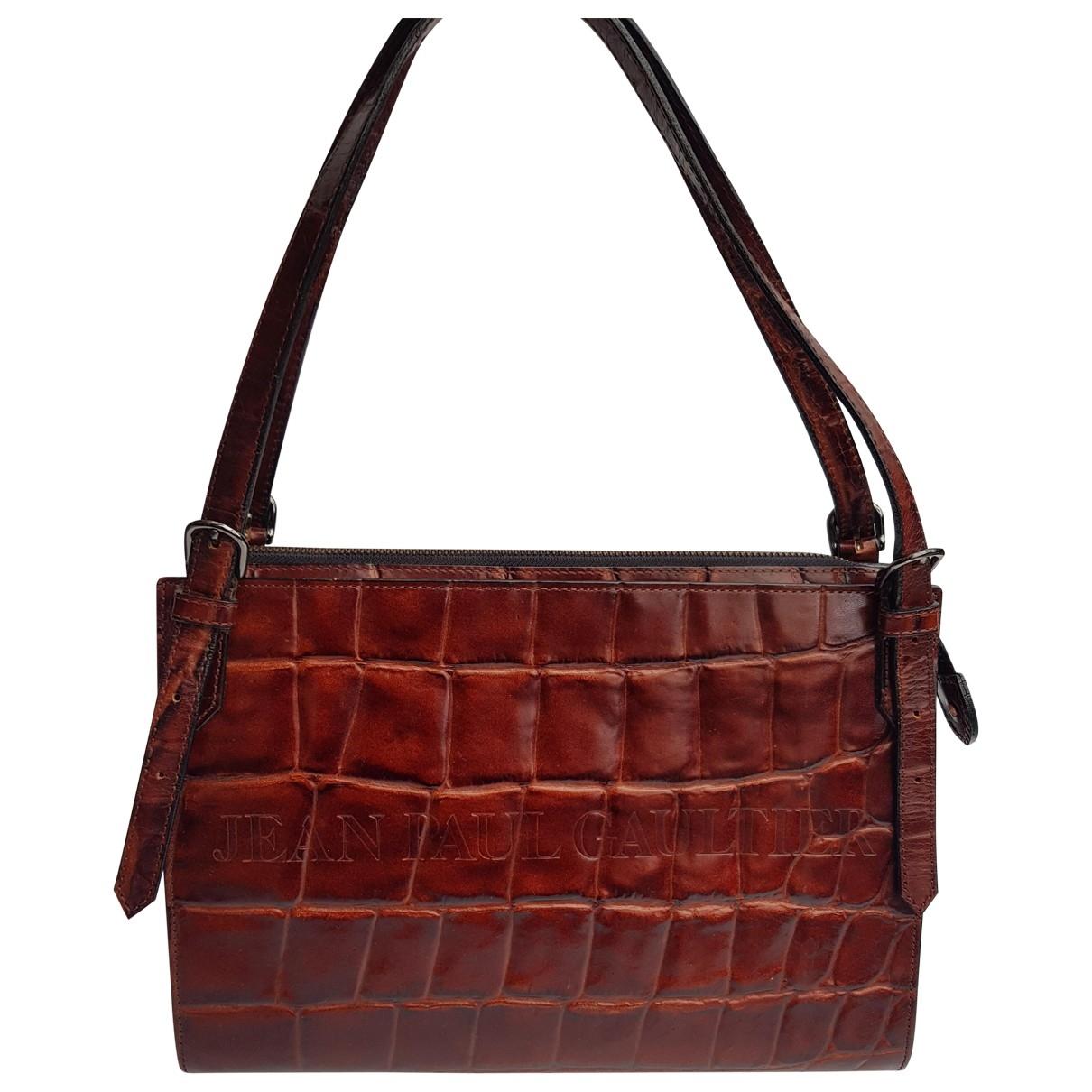Jean Paul Gaultier \N Handtasche in  Braun Leder