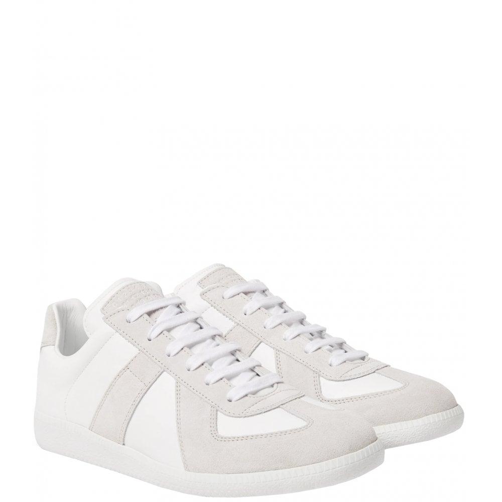 Maison Margiela Replica Trainer Colour: WHITE, Size: 8