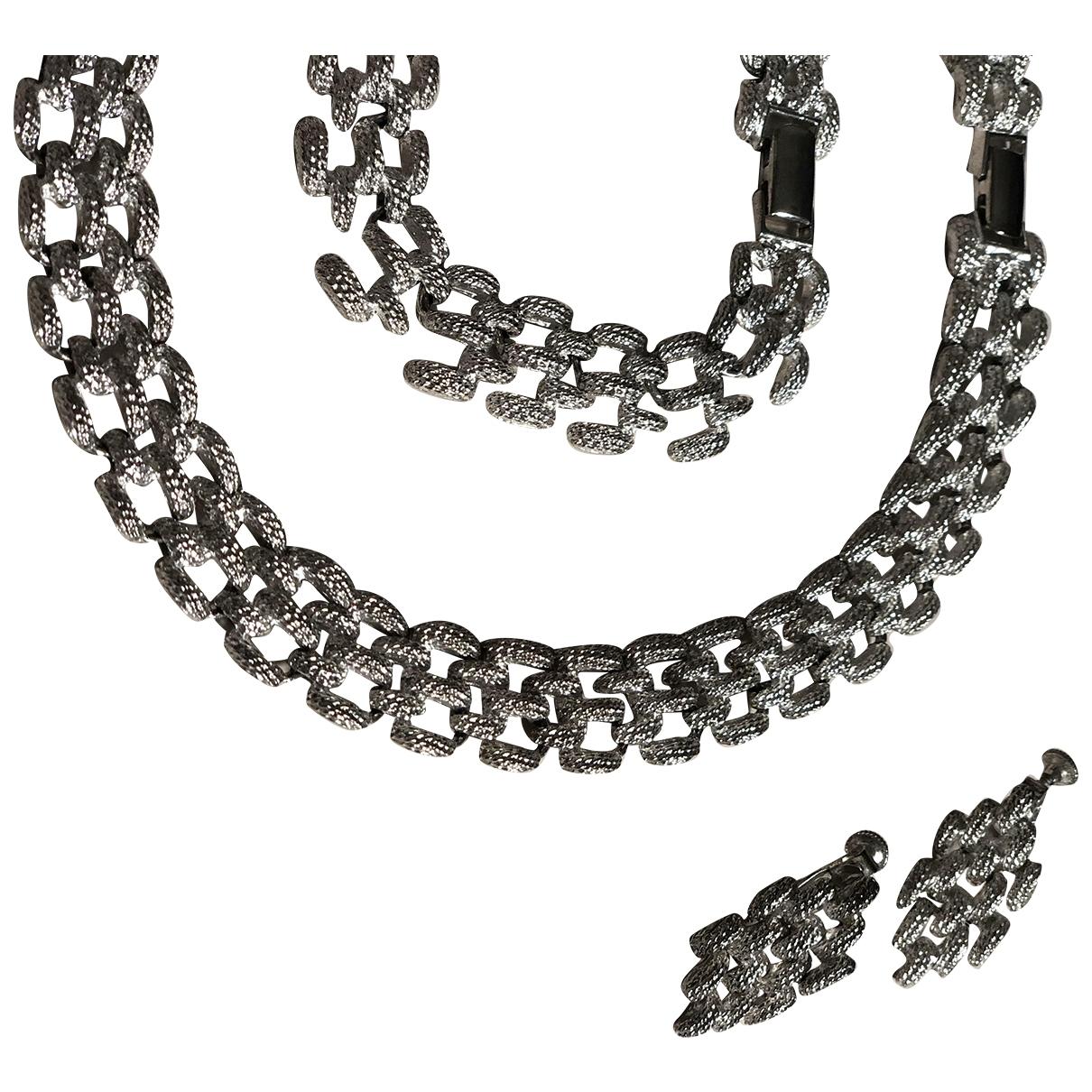 Non Signe / Unsigned \N Schmuck-set in  Silber Metall