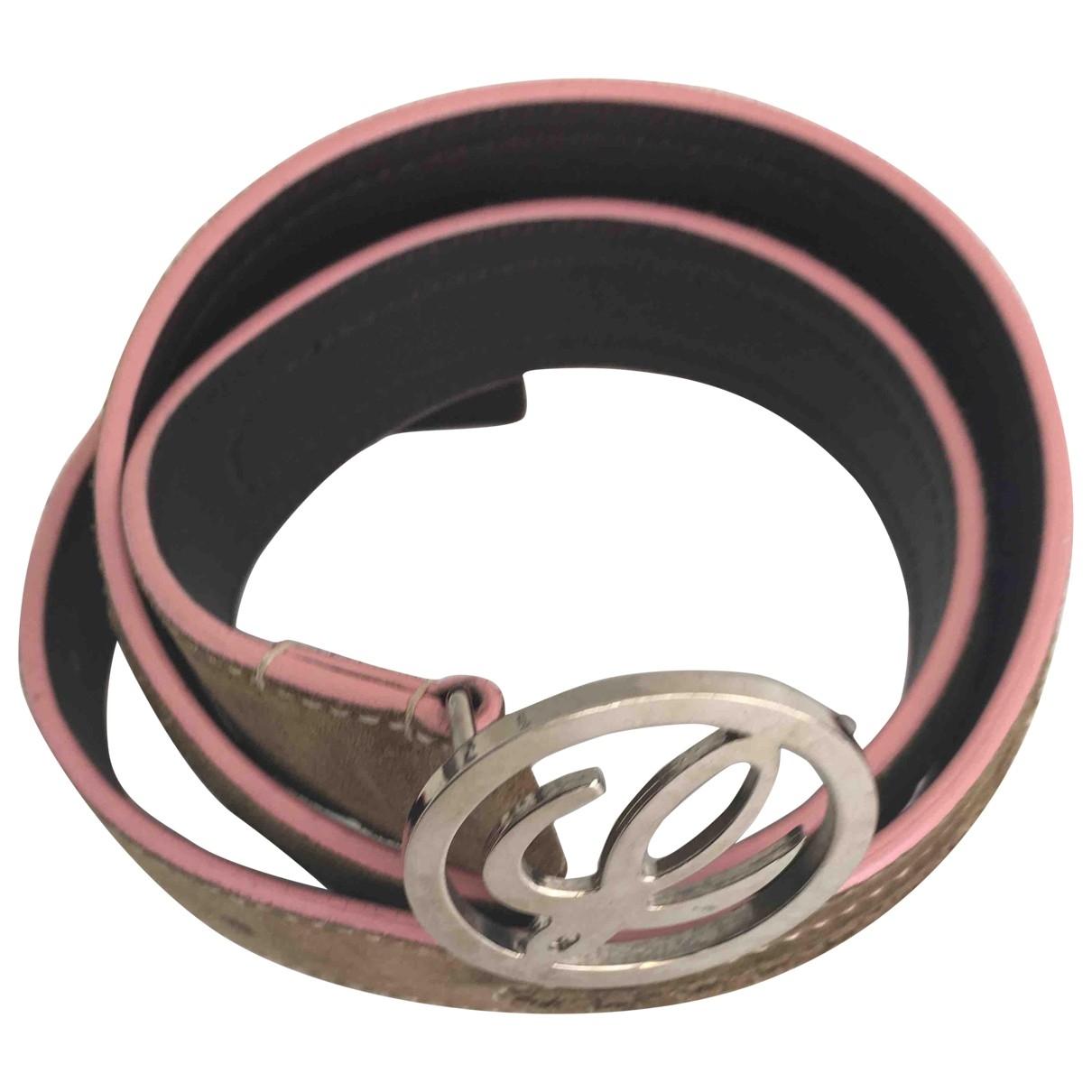 Loewe \N Green Leather belt for Women 80 cm