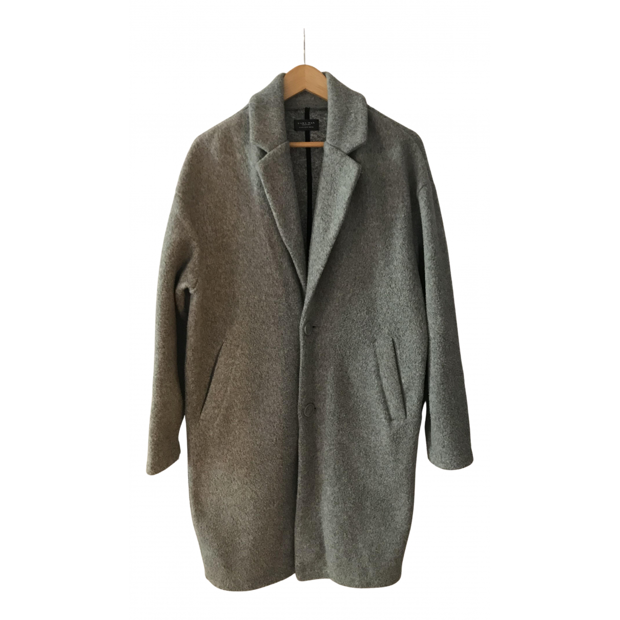 Zara - Manteau   pour homme - gris