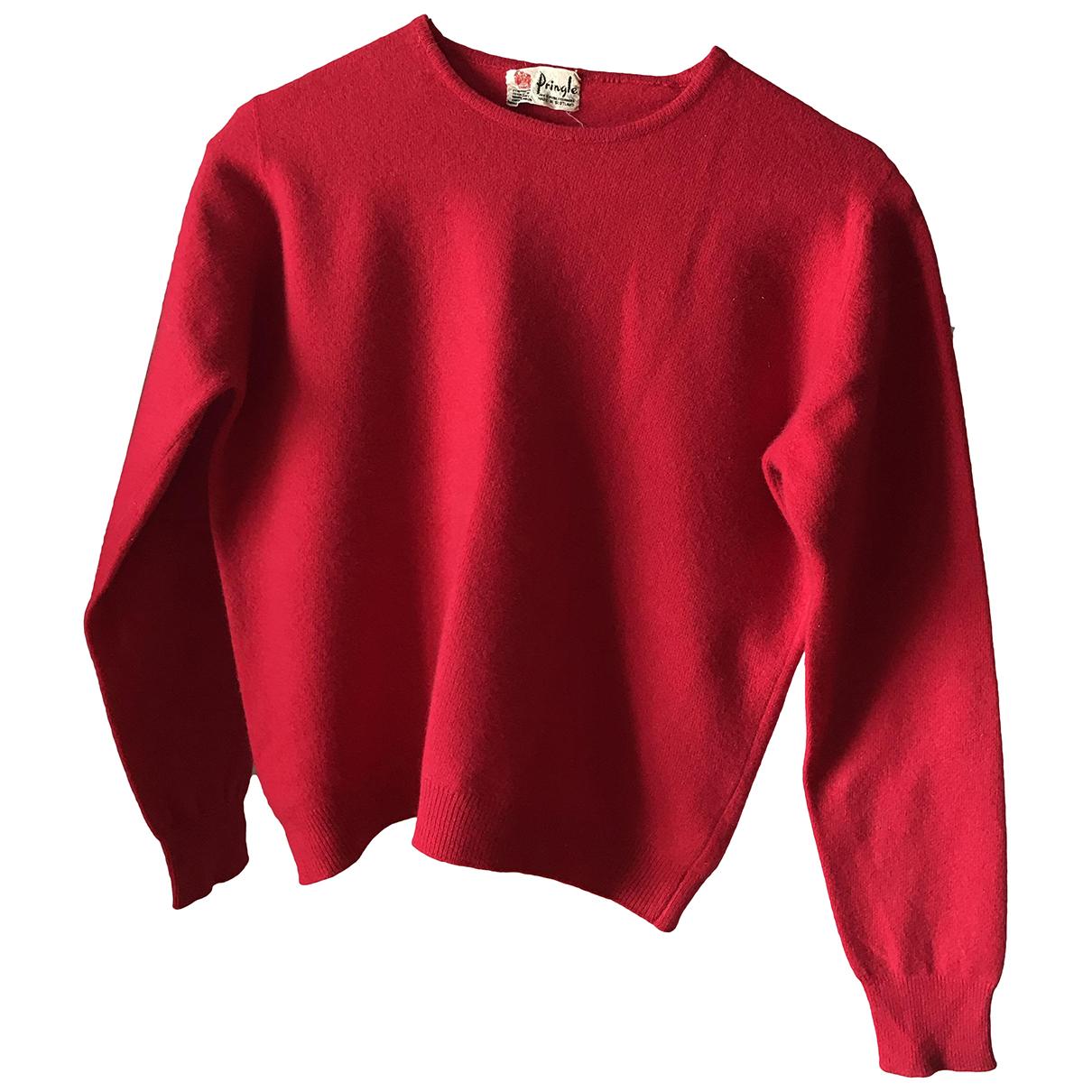 Pringle Of Scotland N Red Cashmere Knitwear for Women XS International