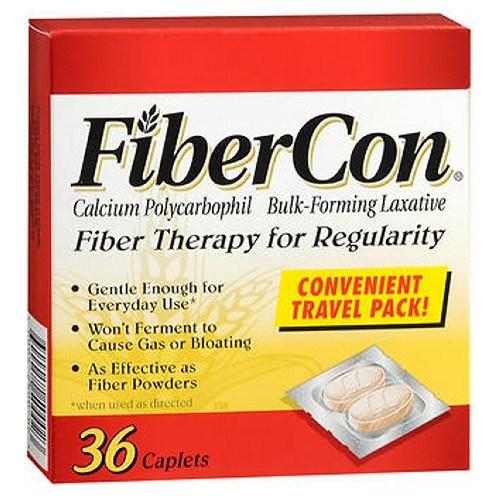 Fibercon Fiber Therapy For Regularity 36 each by Fibercon