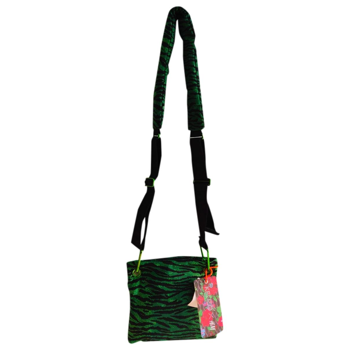 Kenzo X H&m - Pochette   pour femme - vert