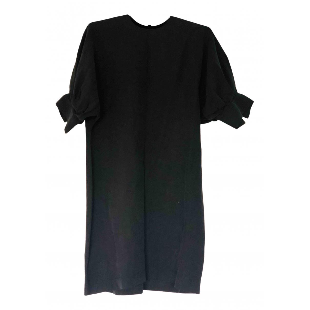 Matin \N Kleid in  Schwarz Seide