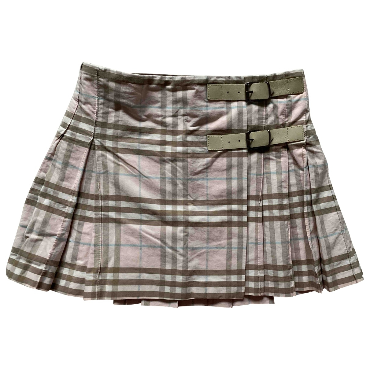 Burberry \N Pink Cotton skirt for Kids 8 years - up to 128cm FR
