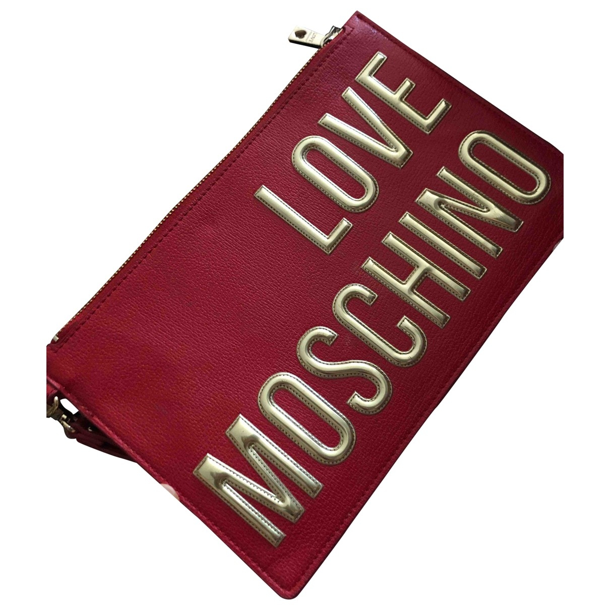 Moschino Love - Pochette   pour femme - rouge