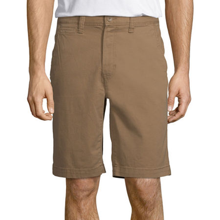 Arizona Flex Mens Chino Short, 31 , Brown