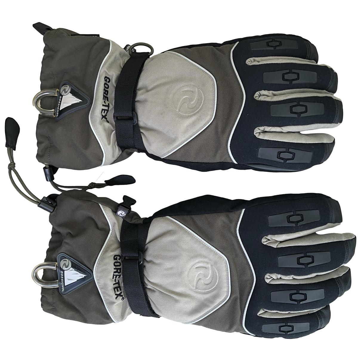 Rossignol \N Handschuhe in  Khaki Synthetik