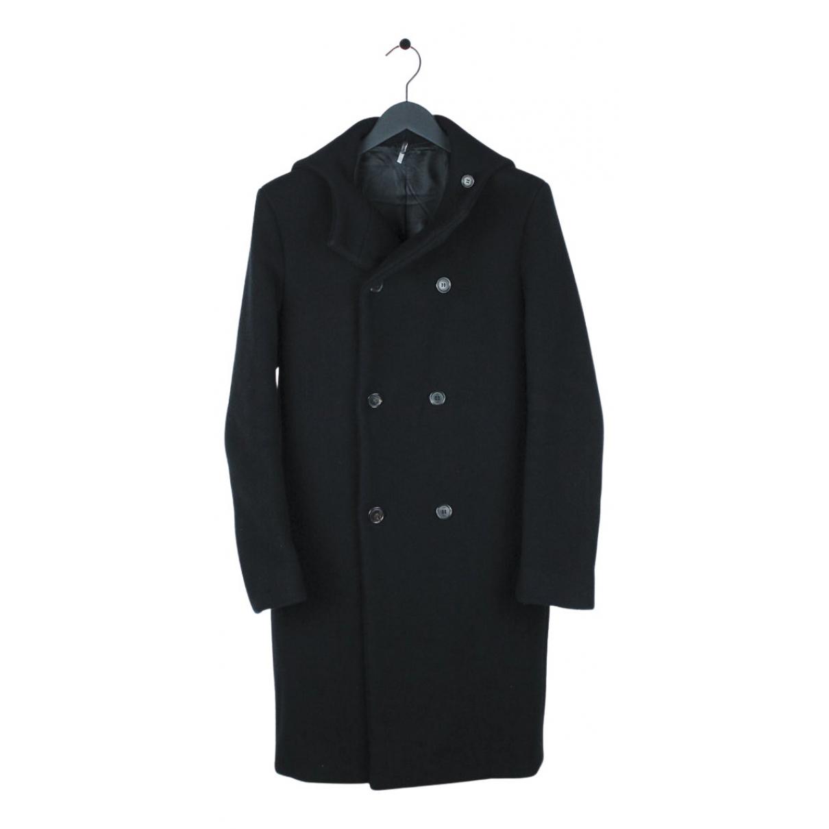 Dior Homme - Manteau   pour homme en laine - noir