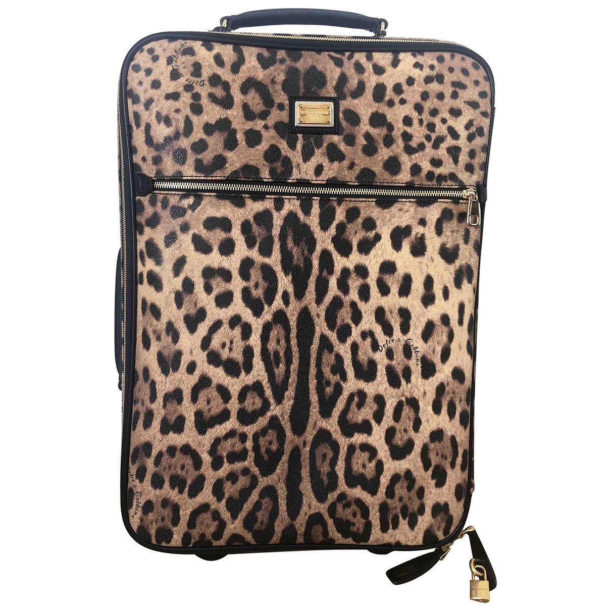 Bolso de viaje de Cuero Dolce & Gabbana