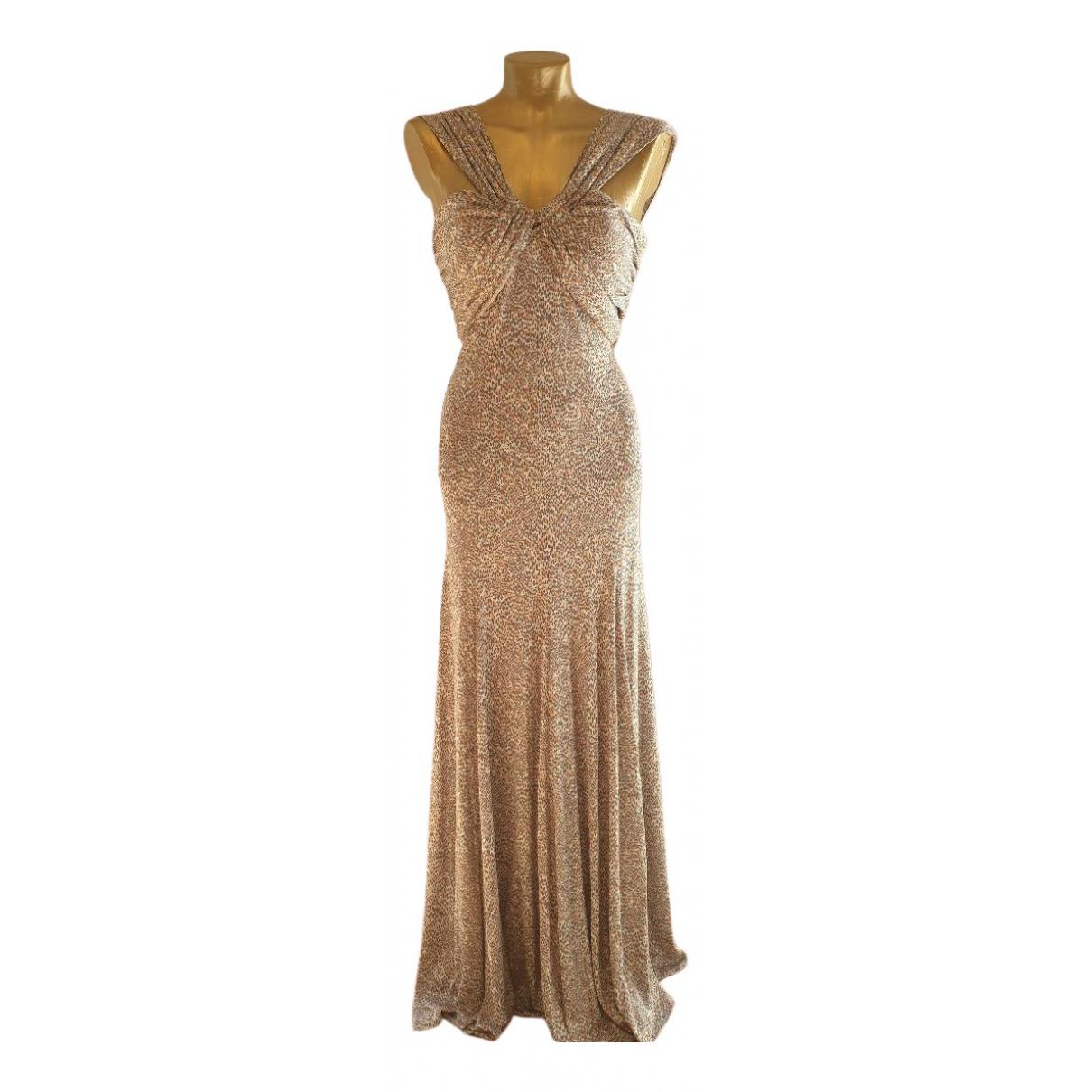Amanda Wakeley \N Kleid in  Rosa Seide