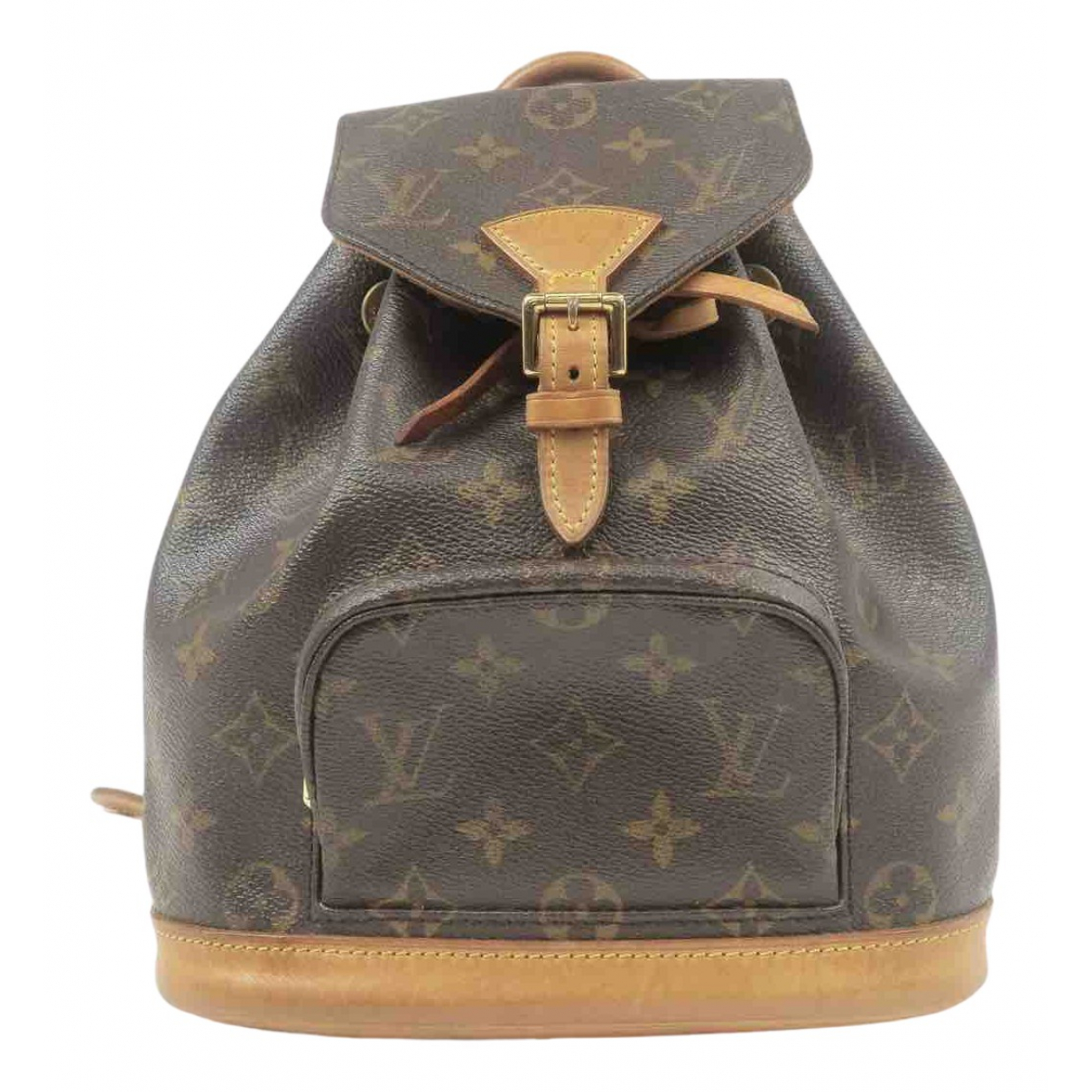Louis Vuitton Montsouris Brown Cloth backpack for Women N