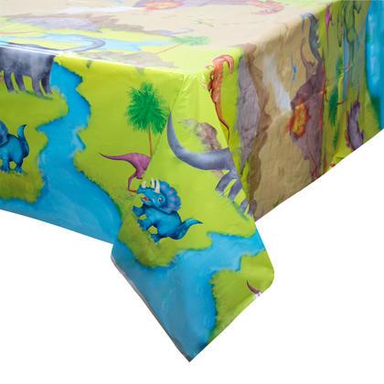 Dinosaur Rectangular Plastic Table Cover, 54