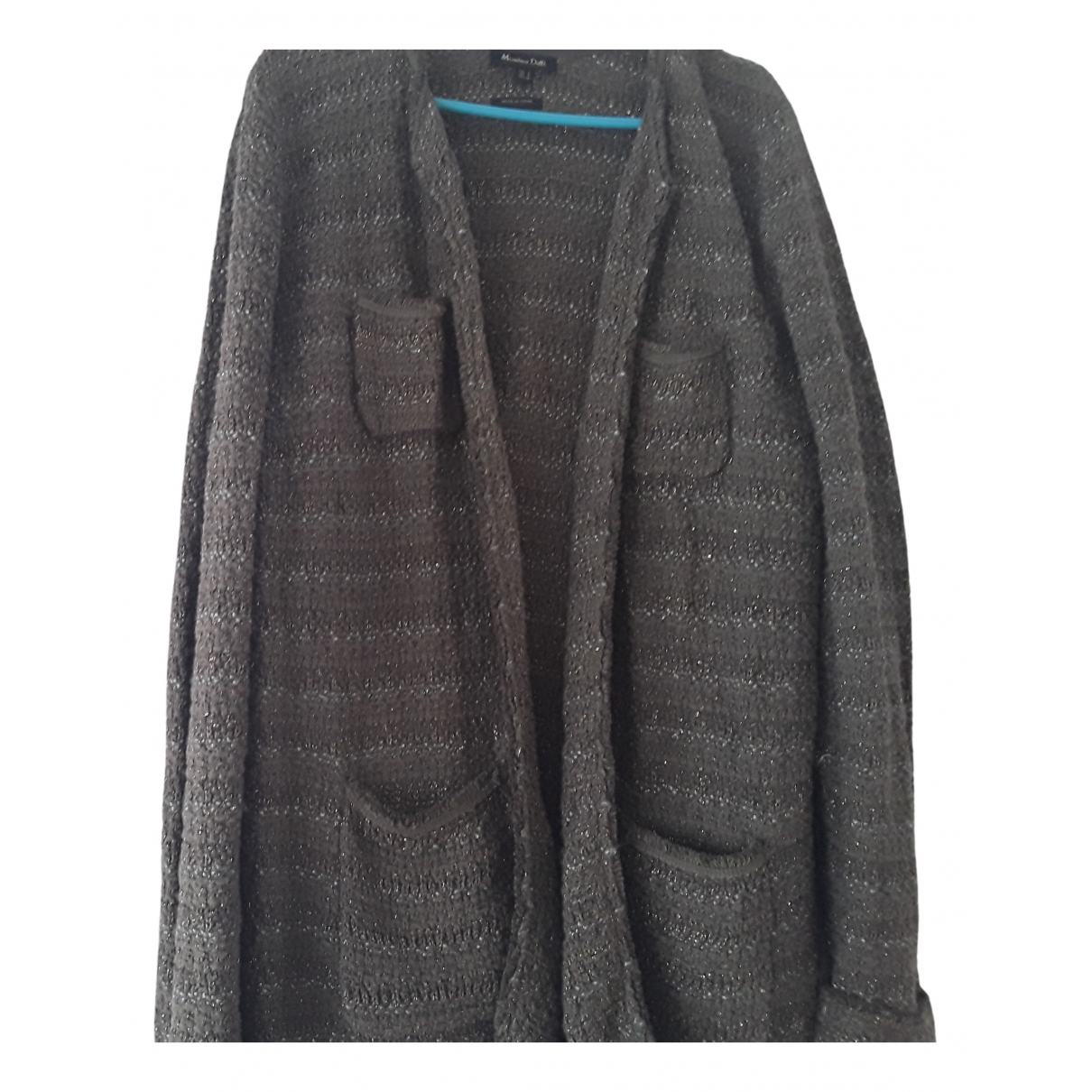 Zara - Veste   pour femme en tweed - vert
