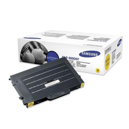 Samsung CLP-500D5Y Original Yellow Toner Cartridge