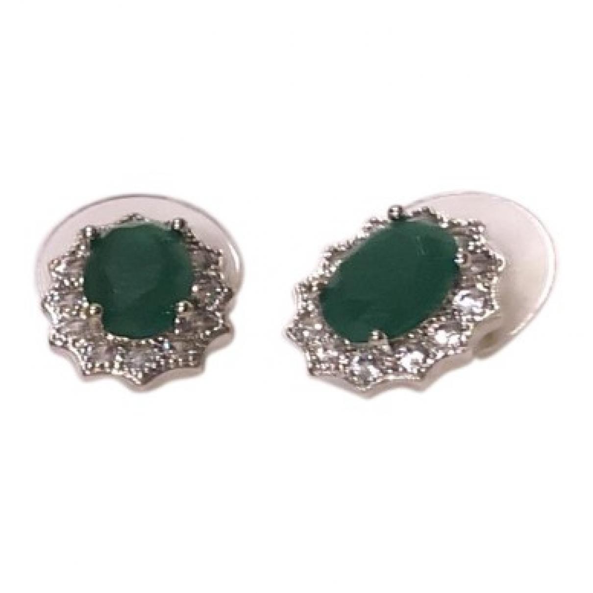- Boucles doreilles   pour femme en autre - vert