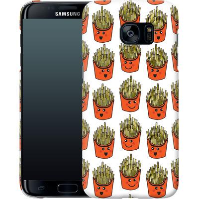 Samsung Galaxy S7 Edge Smartphone Huelle - Happy Fries  von caseable Designs