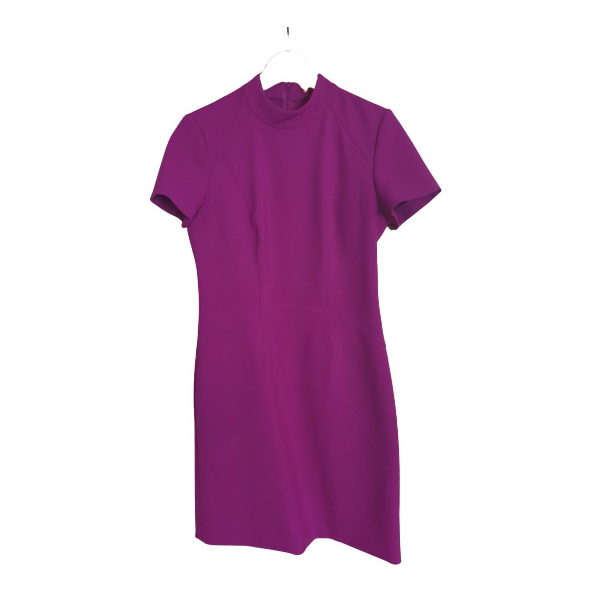 Hugo Boss \N Kleid in  Lila Polyester