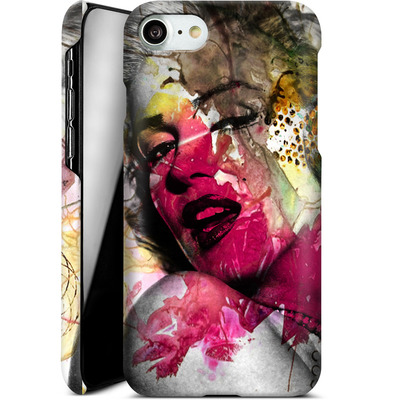 Apple iPhone 7 Smartphone Huelle - Woman Aquarelle von Mark Ashkenazi