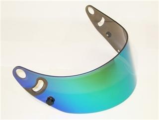 Arai CK-6 Iridium Green Mirror Shield Visor