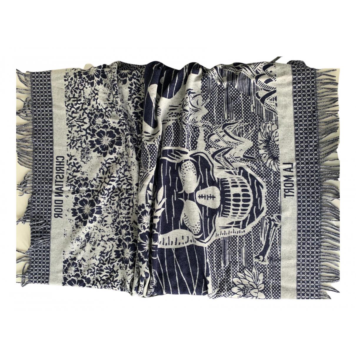 Dior - Linge de maison Toile De Jouy Sauvage pour lifestyle en coton - bleu