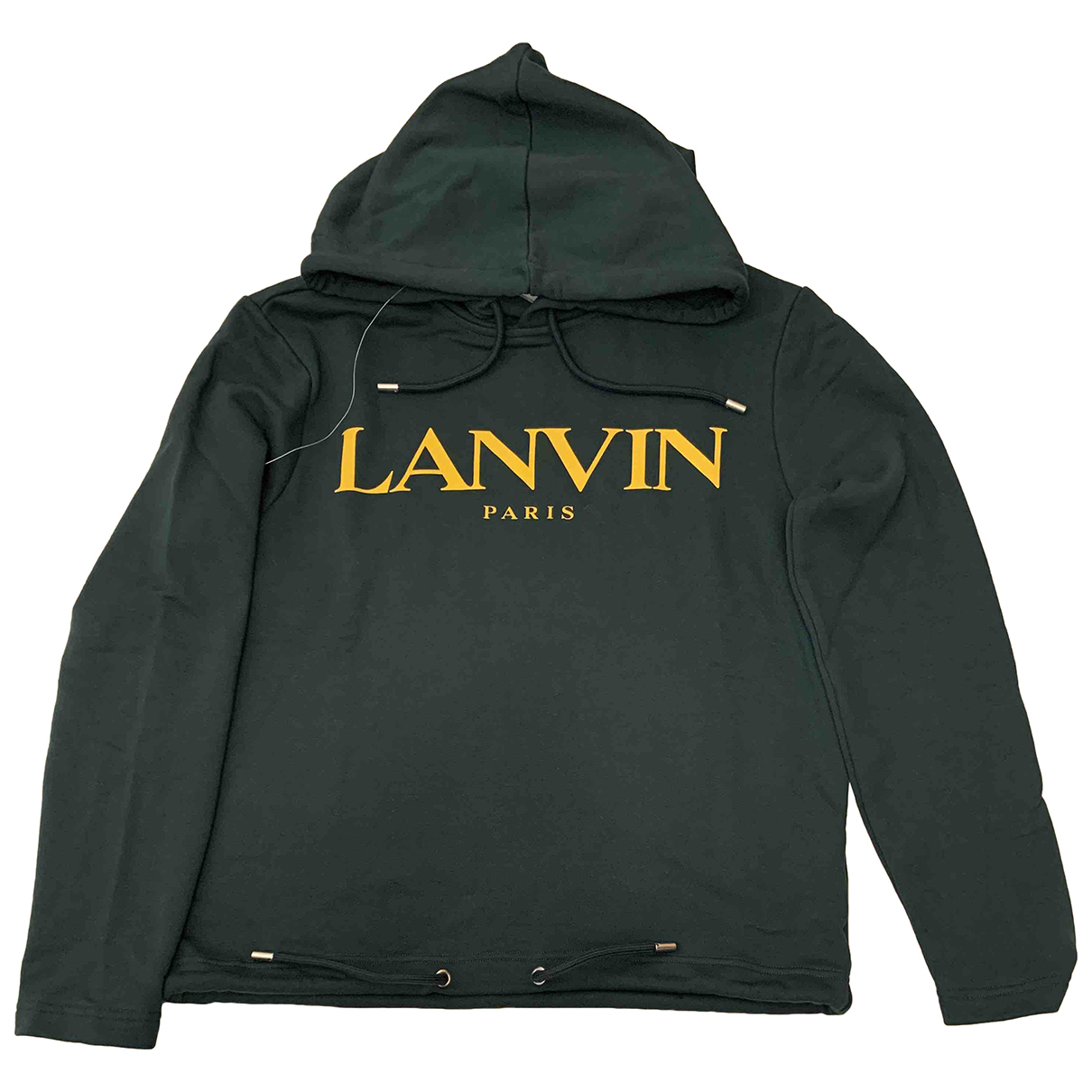 Lanvin N Green Cotton Knitwear & Sweatshirts for Men M International