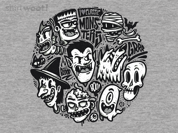 Classic Monsters T Shirt