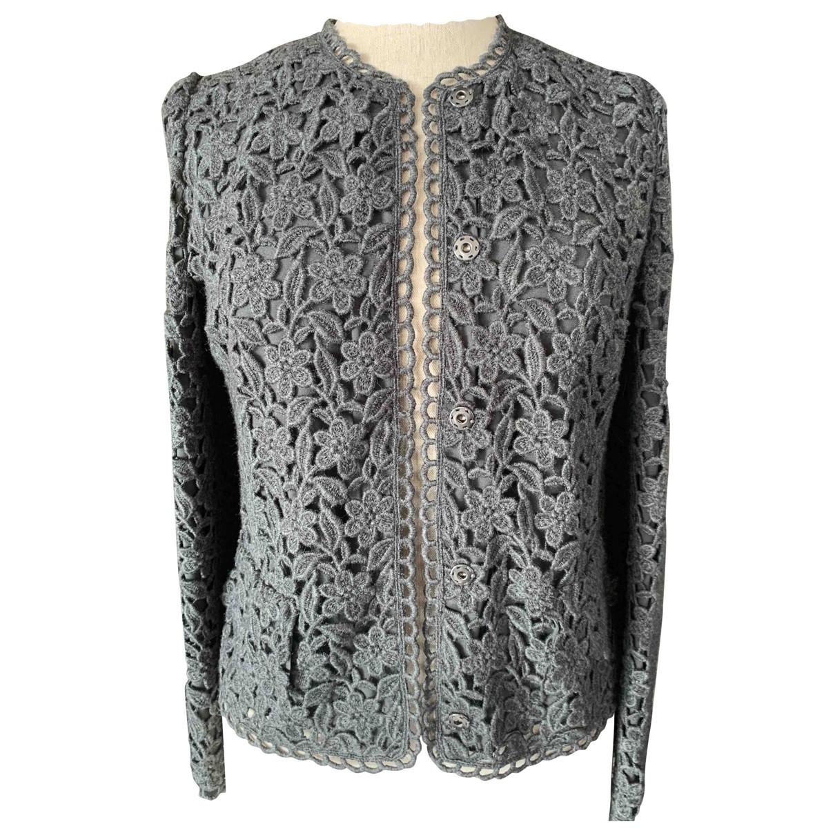 Dolce & Gabbana - Veste   pour femme en laine - gris