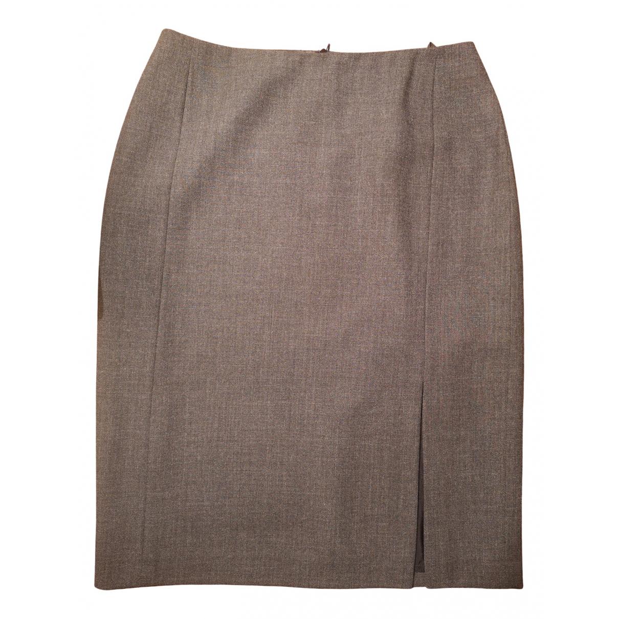 Gerard Darel N Grey Wool skirt for Women 38 FR