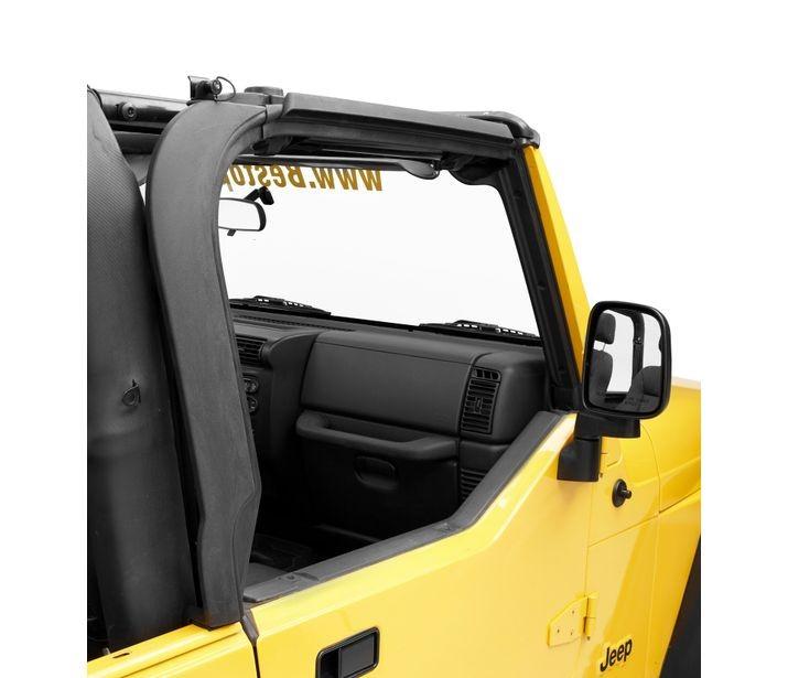 Bestop 55012-01 Black Door Surrounds Jeep Wrangler 1997-2006