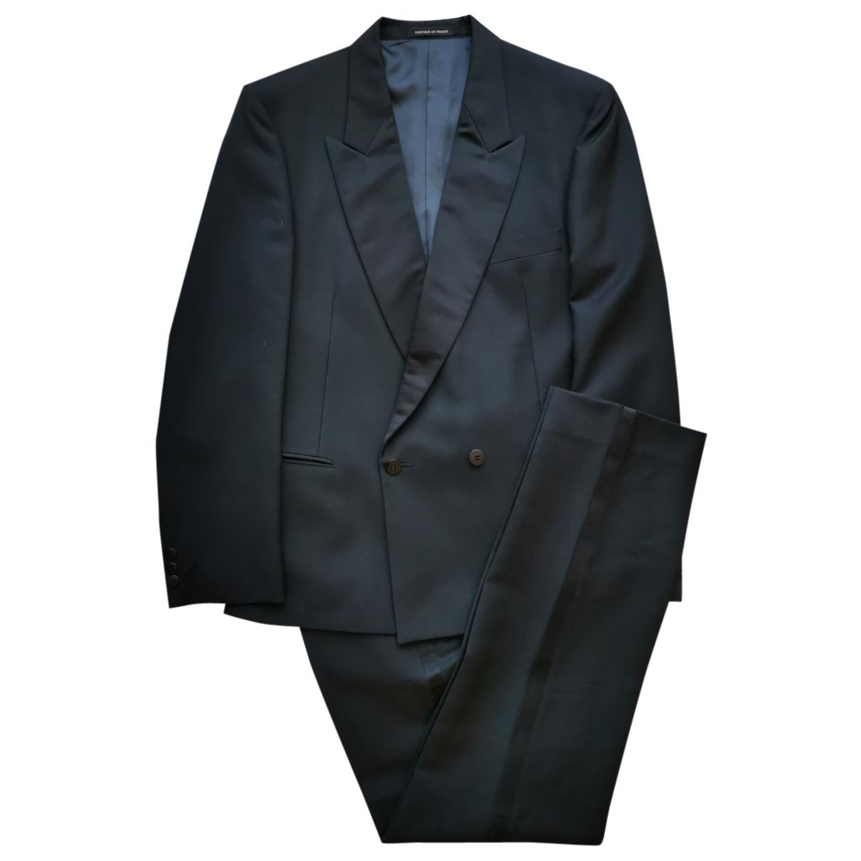Yves Saint Laurent - Costumes   pour homme en laine - noir