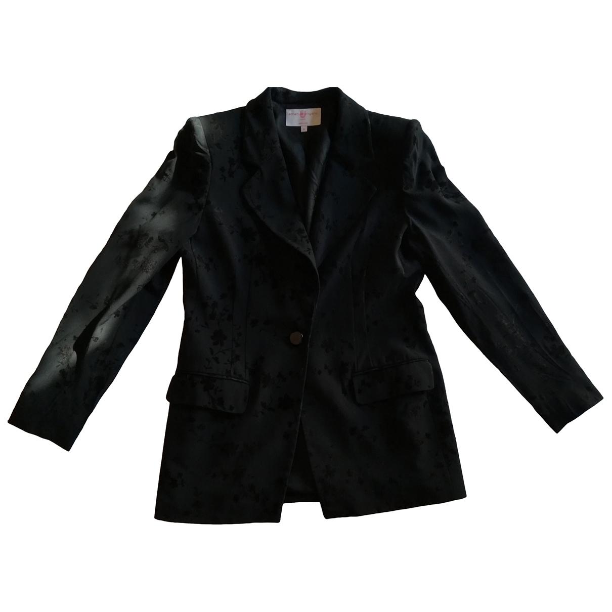 Emanuel Ungaro \N Black jacket for Women 44 IT