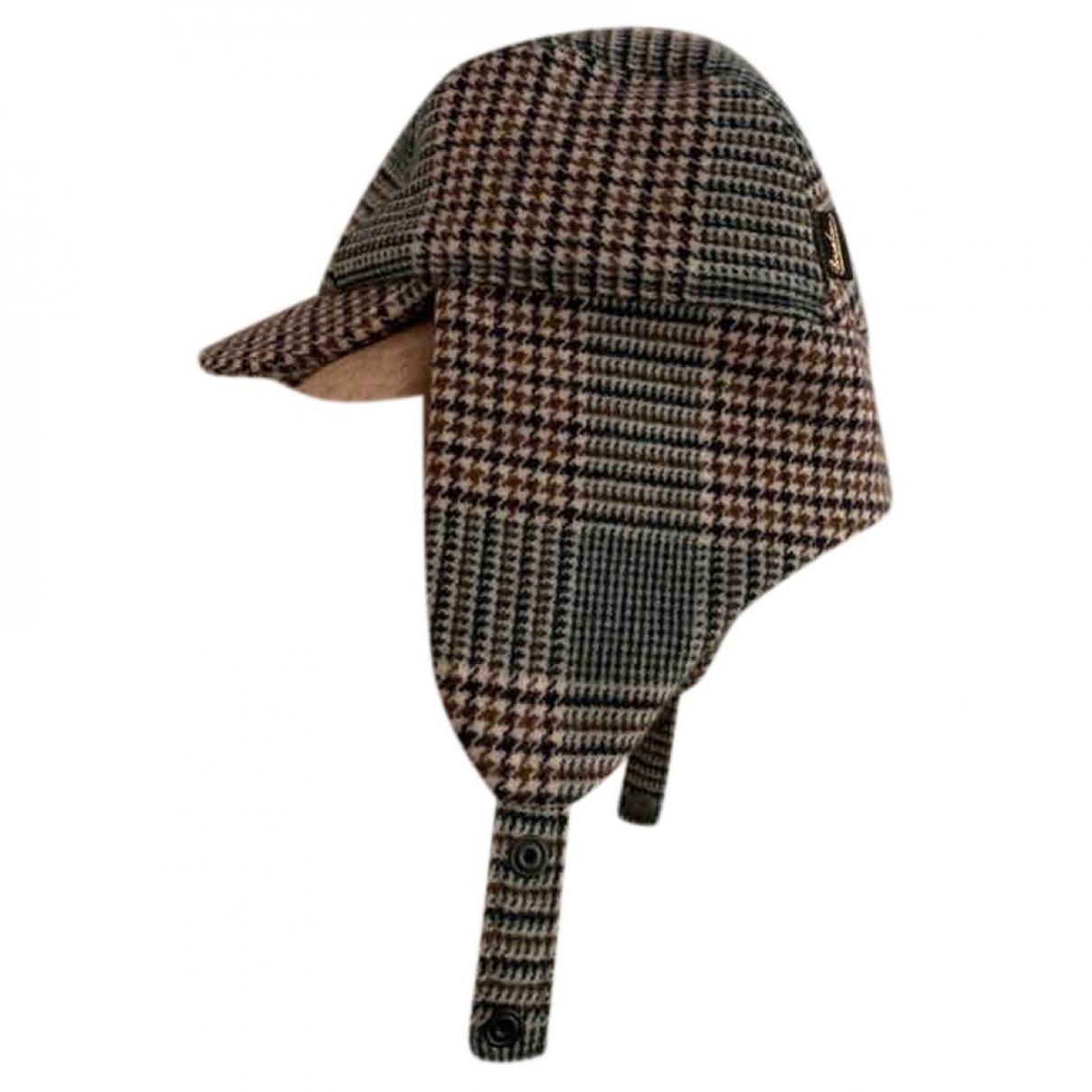 Borsalino - Chapeau & Bonnets   pour homme en laine - beige
