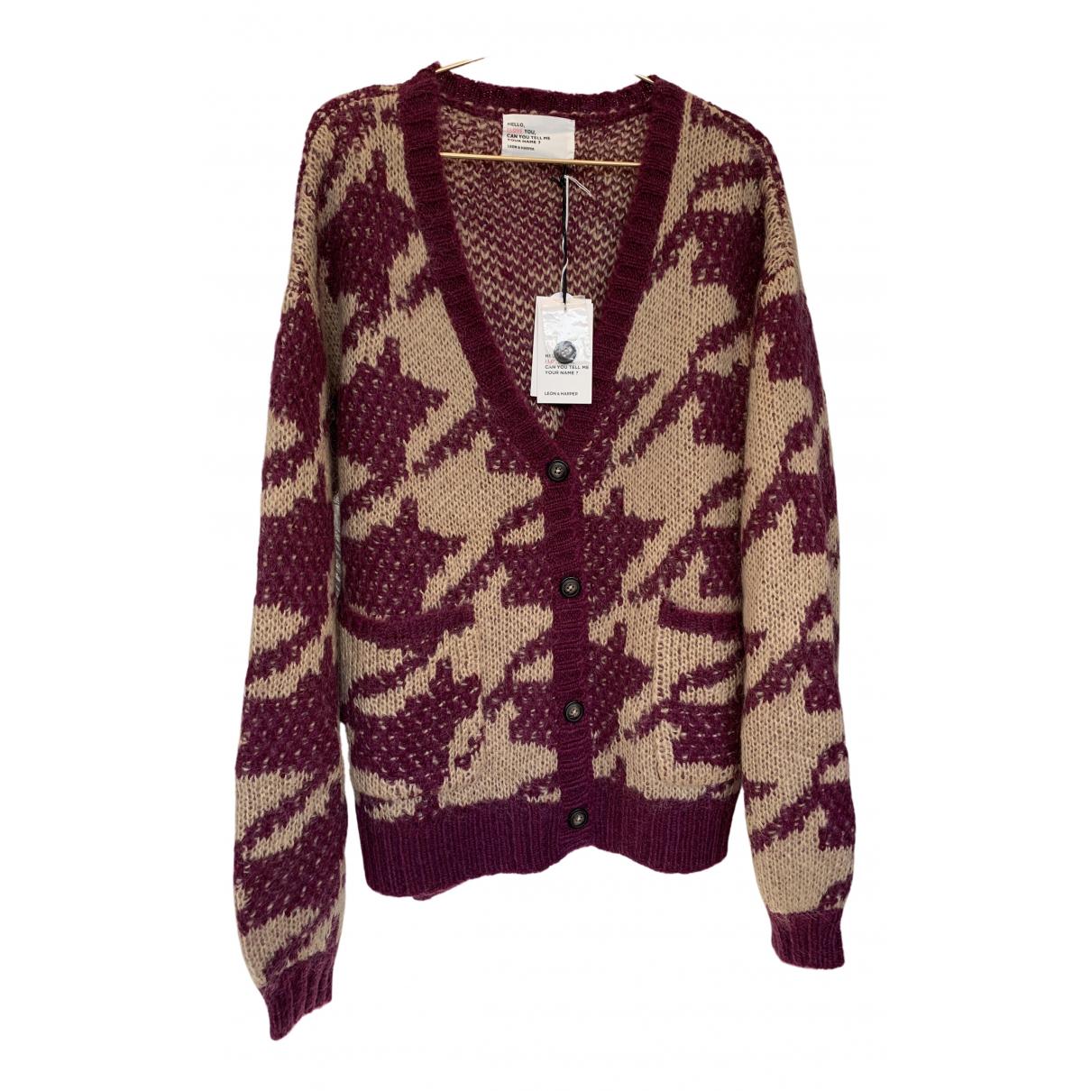 Leon & Harper - Pull   pour femme en laine - beige