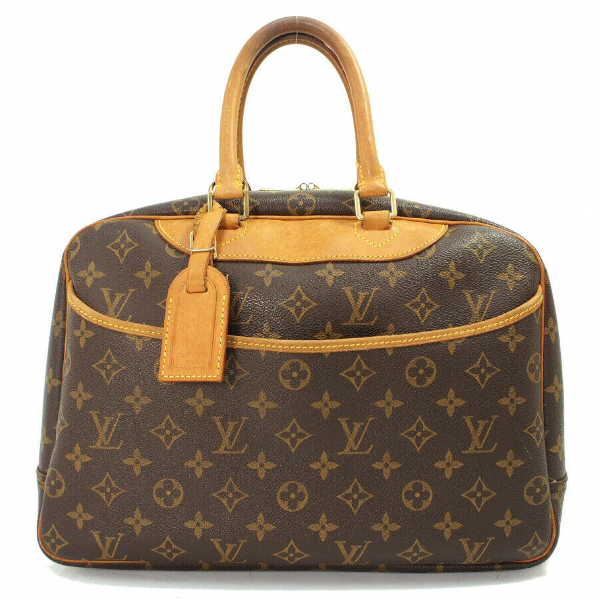 Louis Vuitton \N Handtasche in Leder