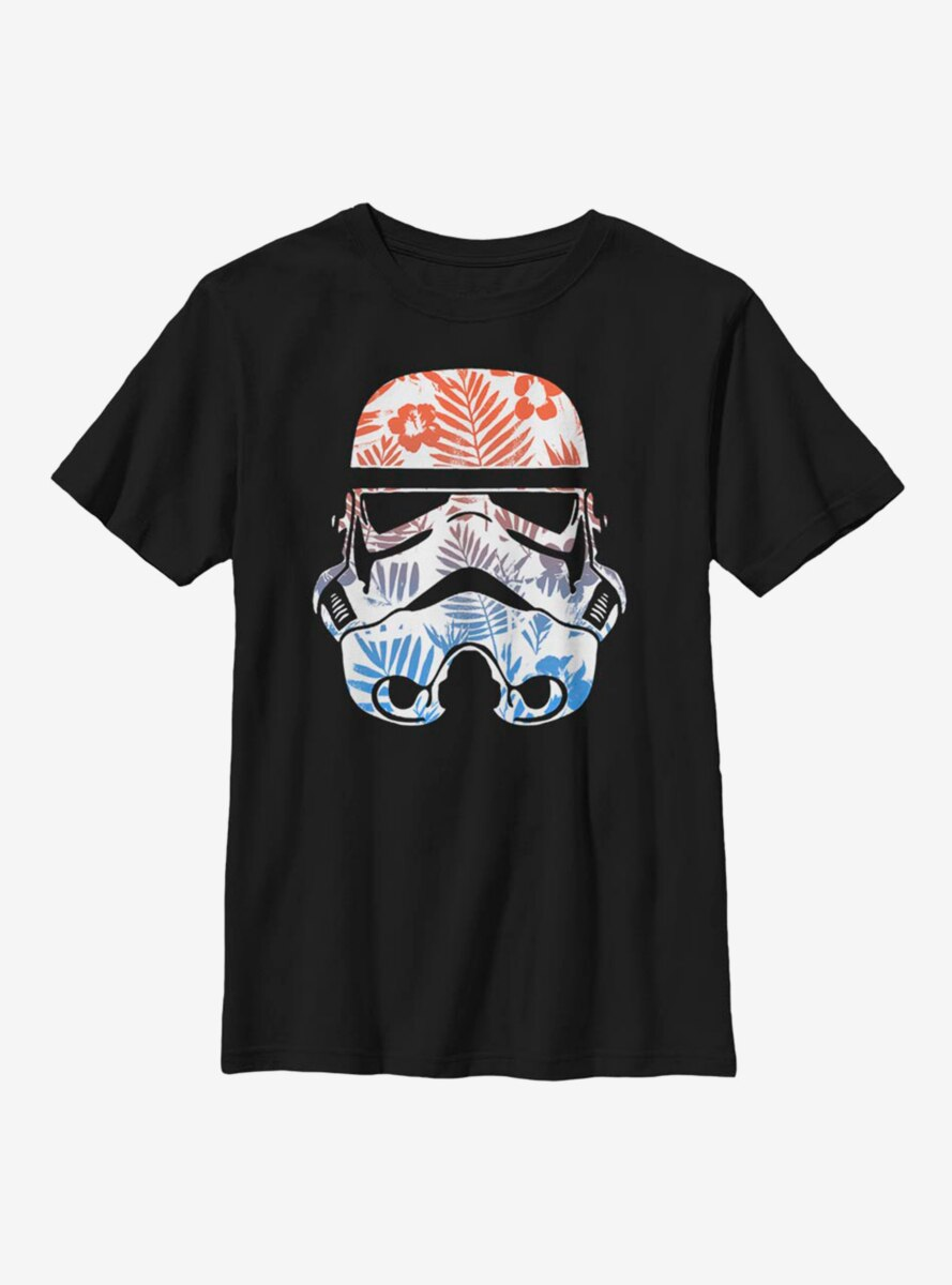 Star Wars Floral Trooper Youth T-Shirt