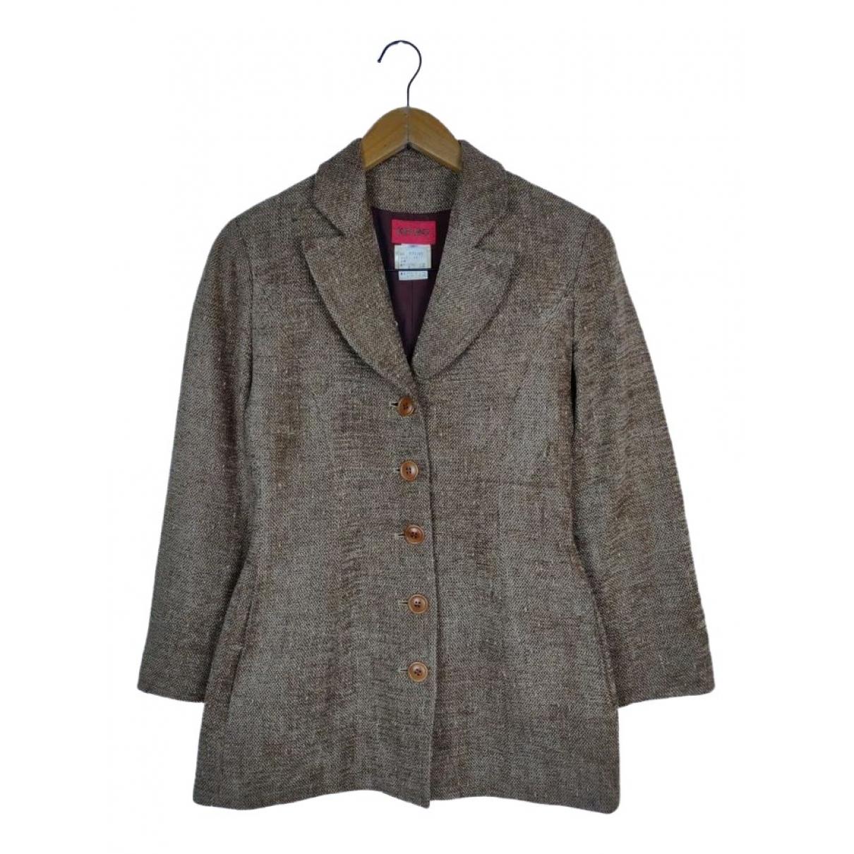 Kenzo - Veste   pour femme en laine
