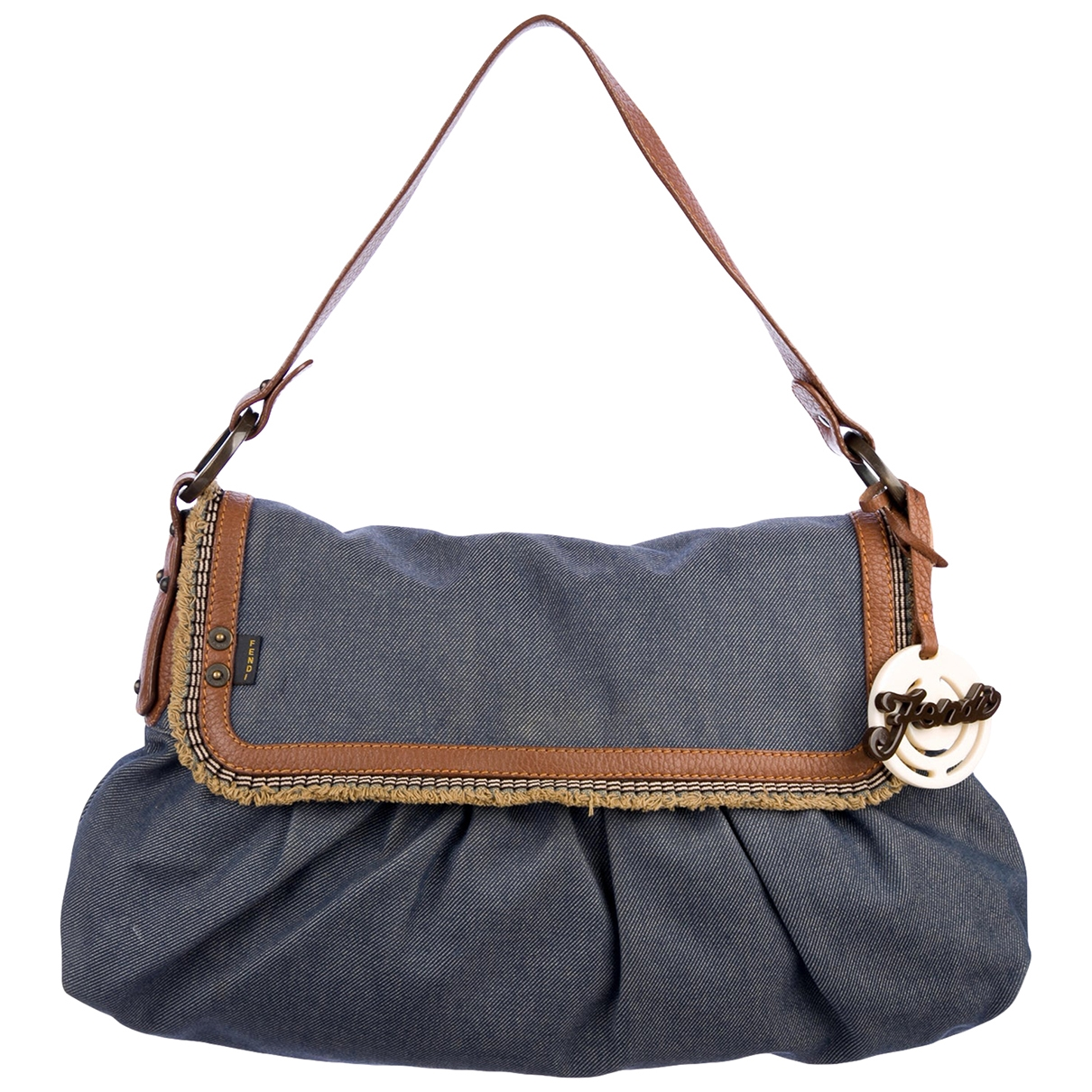 Fendi Chef  Blue Denim - Jeans handbag for Women \N
