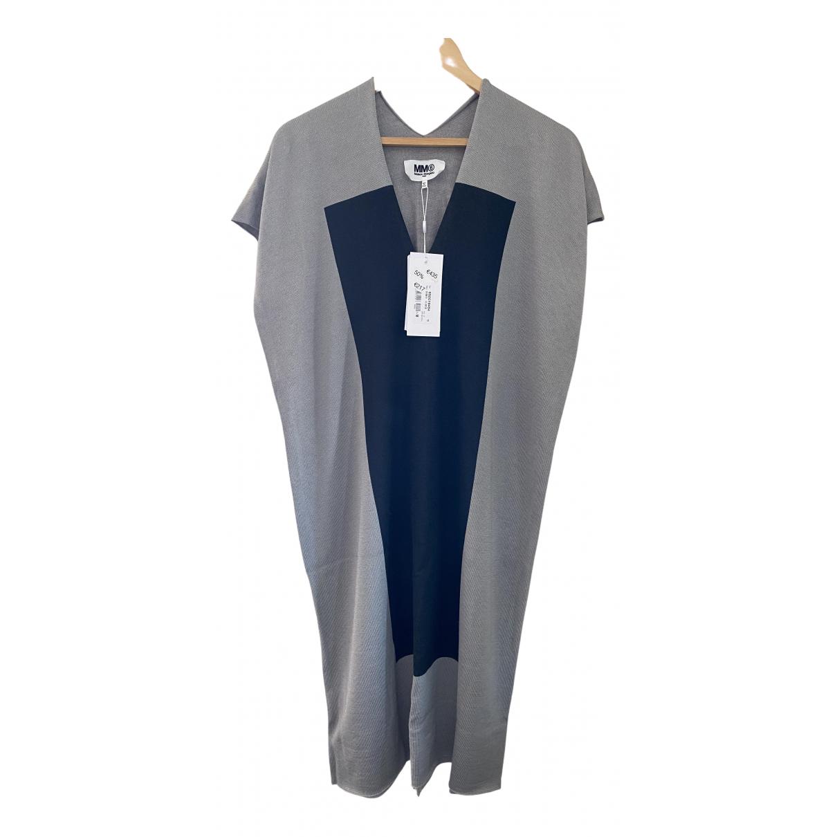 Mm6 - Robe   pour femme en laine - gris