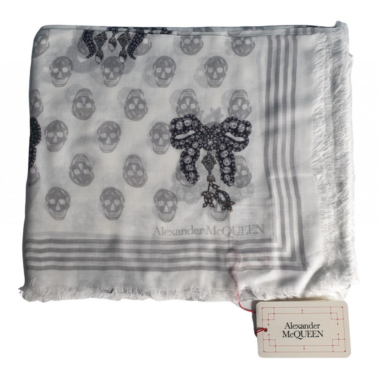 Alexander Mcqueen \N White scarf for Women \N