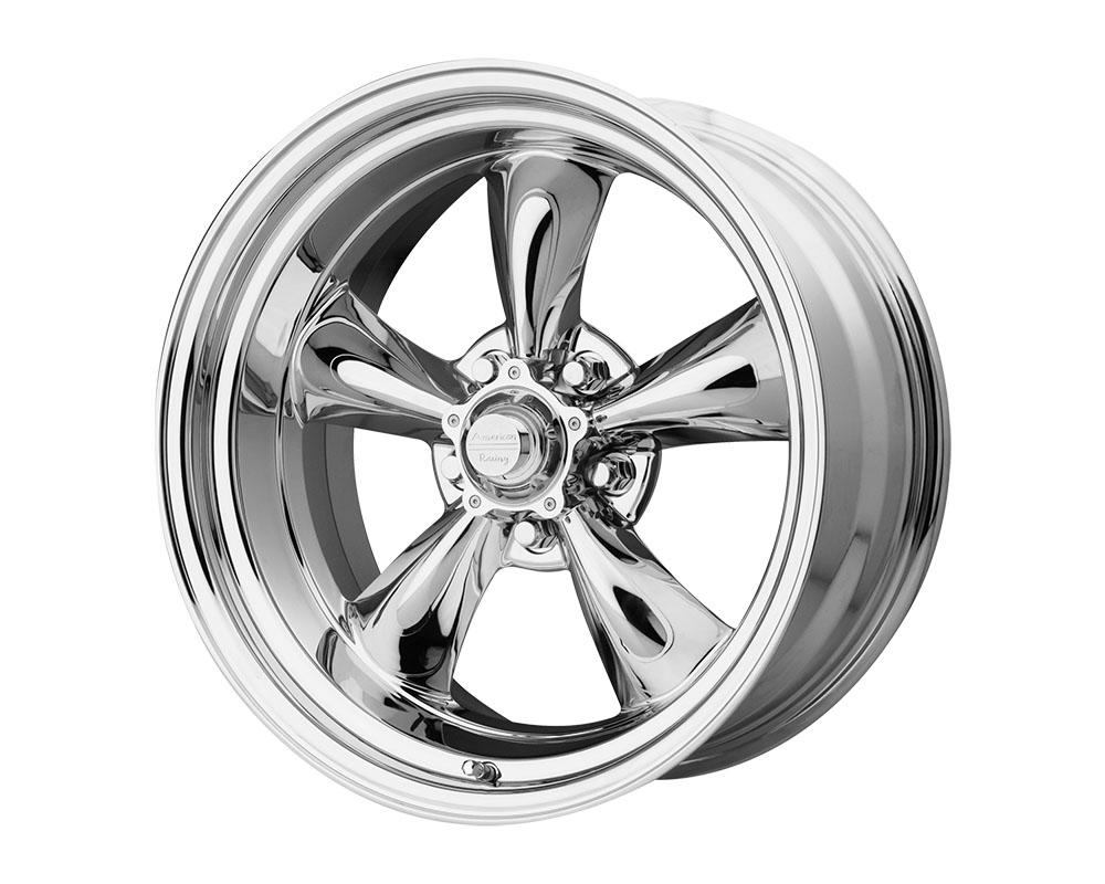 American Racing VN615 Torq Thrust II 1 PC Wheel 17x8 5x5x114.3 +8mm Chrome