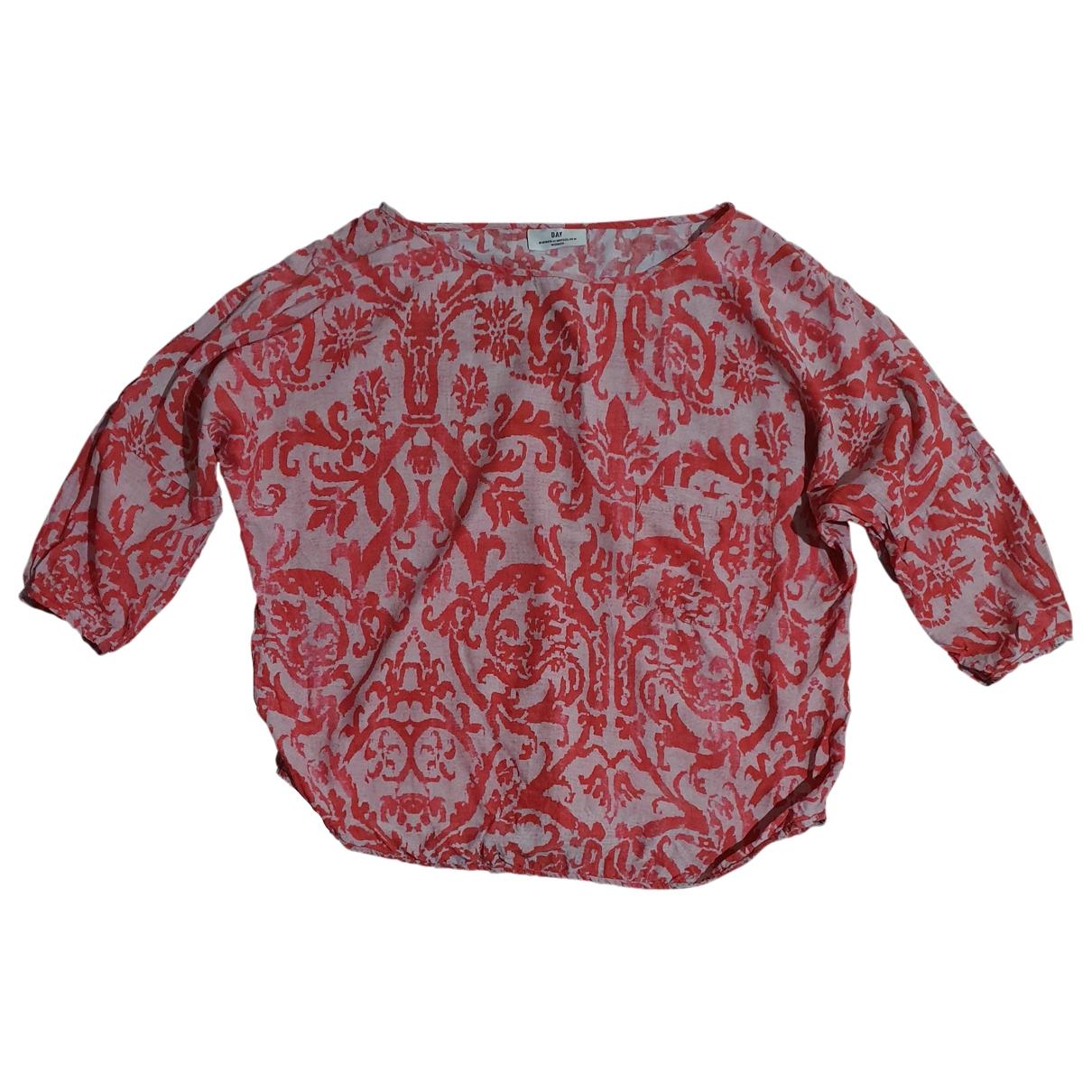 Day Birger & Mikkelsen - Top   pour femme en soie - multicolore